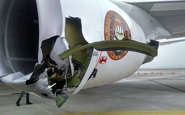 Iron Maiden plane suffers severe damage in Chile