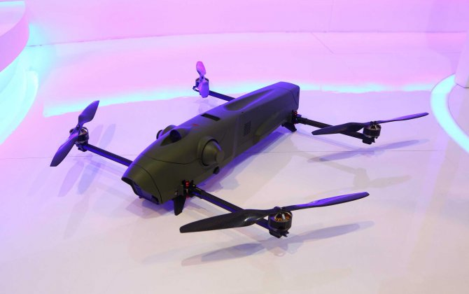 Israel Made a Kamikaze Quadcopter from Hell