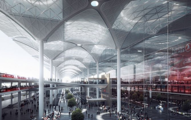 Istanbul New Airport Placed on short list for architectural award
