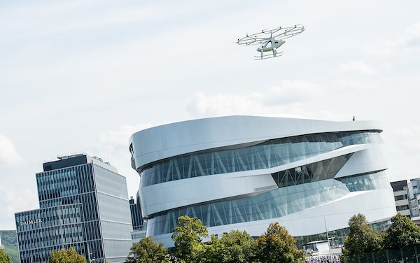 It happened in Stuttgart - first urban flight of Volocopter in Europe