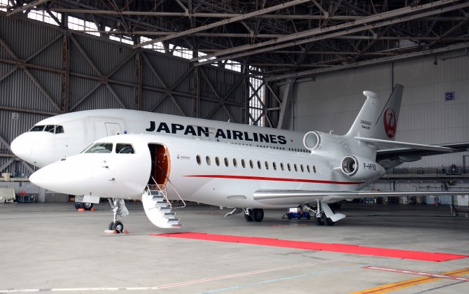 JAL and Dassault Falcon Service to offer private jet service