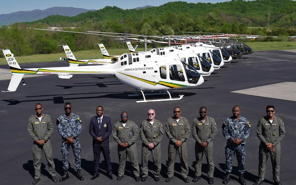Jamaica Defence Force receives milestone Bell 505 Jet Ranger X to support public safety and future pilot training