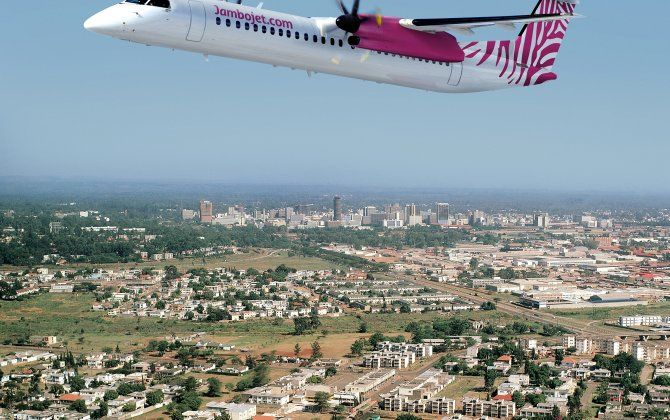 Jambojet Selects Q400 for Fleet Renewal and Expansion
