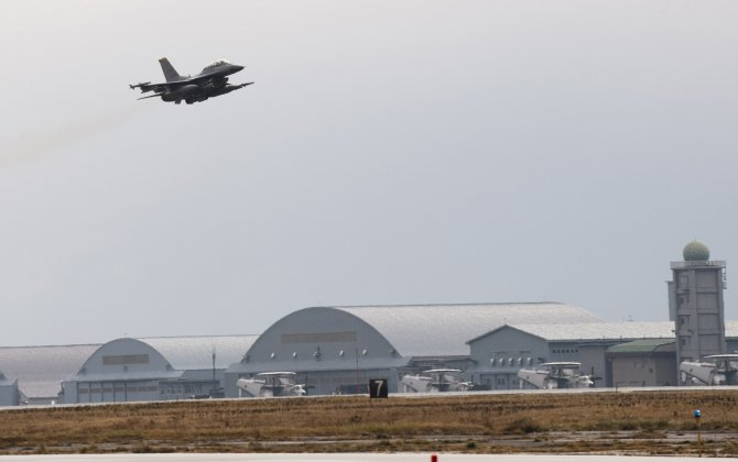 Japanese and British fighter planes meet for first time since World War Two