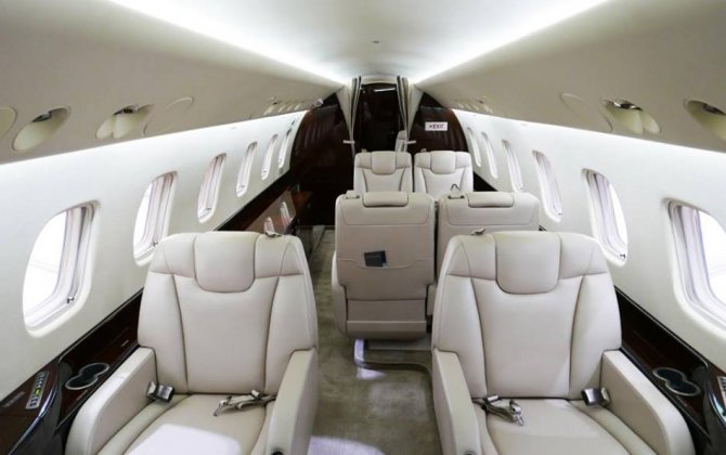 Jet Aviation Basel delivers first full cabin refurbishment project on Legacy 650