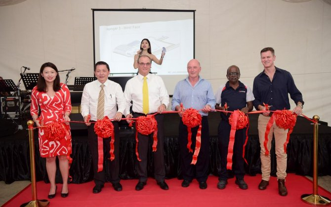 Jet Aviation launches new hangar project at Seletar Aerospace Park in Singapore