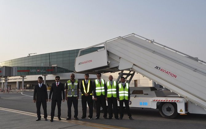 Jet Aviation provides ground handling services in Yanbu, Kingdom of Saudi Arabia