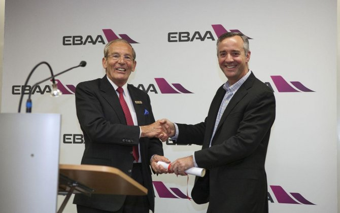 Jet Aviation receives Gold Safety of Flight Award from EBAA