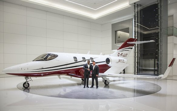 Jet It global expansion to Canada - delivery of first aircraft