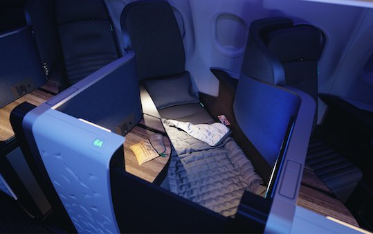 JetBlue announced as launch customer for Thompson Aero Seating VantageSOLO business-class