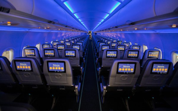 JetBlue - Fully Connected Core Experience on Airbus A320 Aircraft