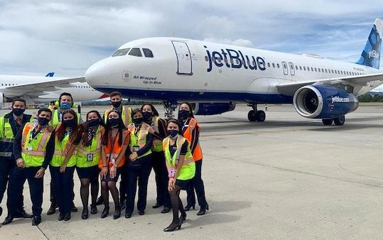 JetBlue rings in the New Year with Its New Airbus A220-300 Aircraft