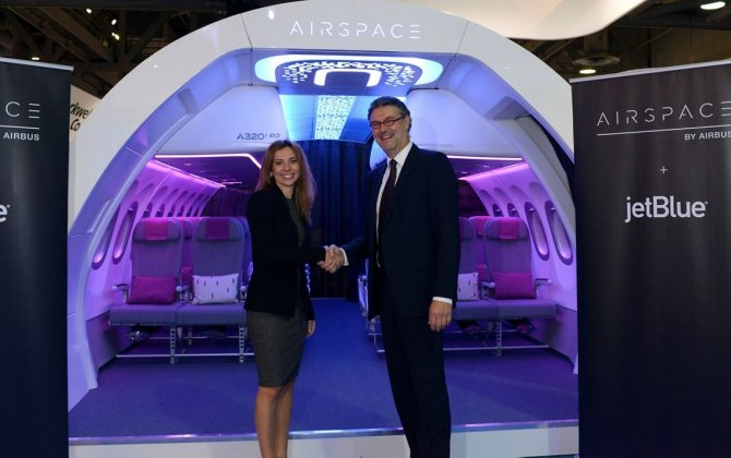 JetBlue unveiled as launch airline for A320 Family Airspace cabin