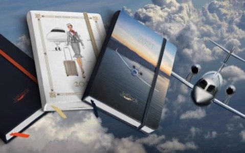 JetBook is launching new aviation-themed Diary