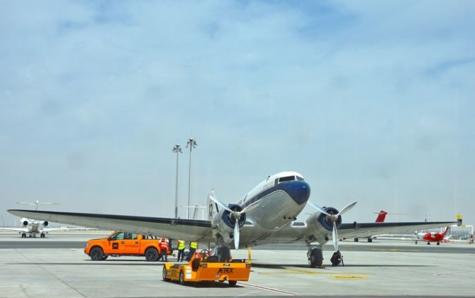 Jetex Appointed as Handling Partner for Breitling DC-3 World Tour in the UAE
