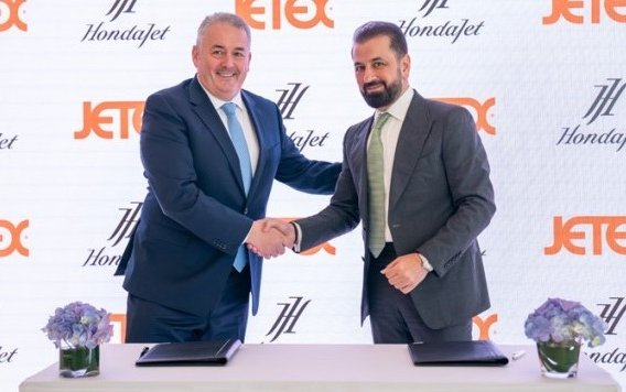 Jetex becomes The Exclusive Dealer In The Middle East Region For Hi-Tech New HondaJet
