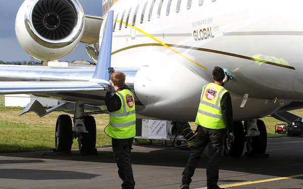 JetWash takes up residence at London Biggin Hill Airport