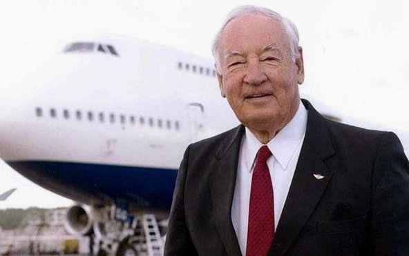 Joe Sutter, 'Father of the Boeing 747', dies