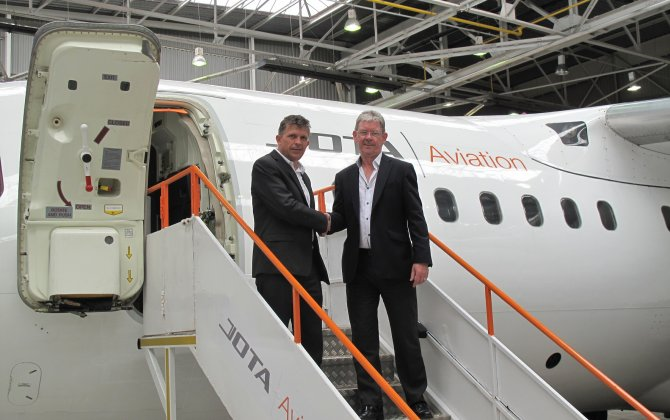 Jota Aviation expands management team  Leases new hangar at London Southend Airport