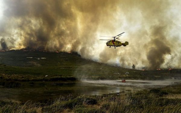 Ka-32 helicopters to be used in firefighting in Turkey