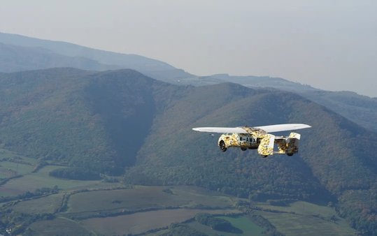 Key milestone in the airworthiness testing of AeroMobil latest model Flying Car