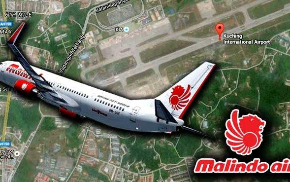 KL-Sabah Malindo Air flight makes forced landing in Kuching