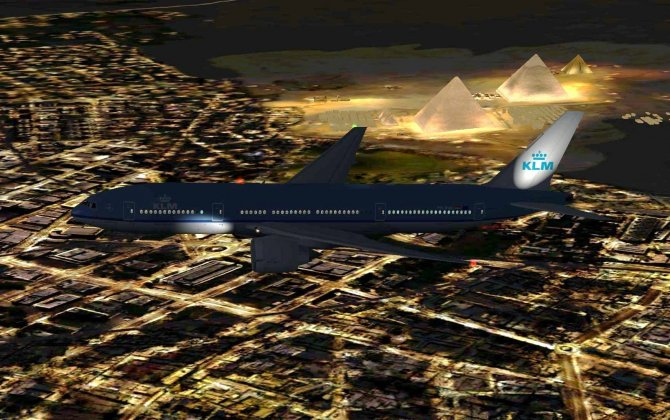 KLM suspends service to Cairo