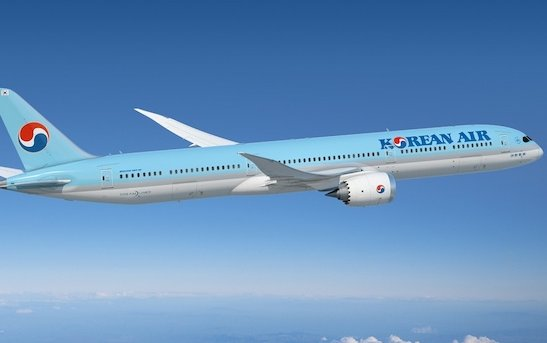 Korean Air Orders 20 787 Dreamliner Airplanes