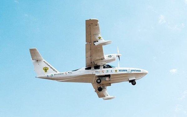 LA-8 and L-42 amphibious aircraft will help to count Polar bears in the Russian Arctic
