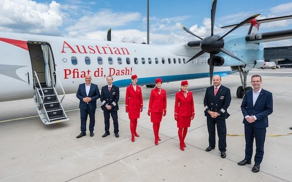 Last flight: Austrian Airlines says goodbye to the last Dash aircraft