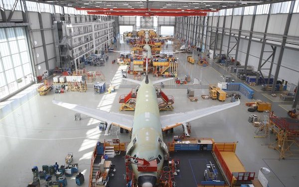 Latest from Airbus -  production rates updated and welcome to new customer