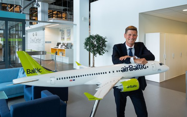 Latvian aviation recovery –  home of airBaltic with Pauls Calitis