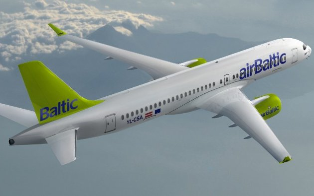 Latvia's airBaltic Increases its Firm C Series Order to 20 Bombardier CS300 Aircraft