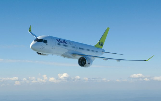 Latvia's airBaltic Signs Up for Bombardier C Series Aircraft Smart Parts Program