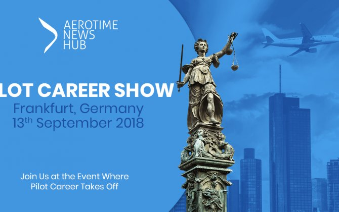 Leading airlines to recruit talented flyers - Pilot Career Show Frankfurt