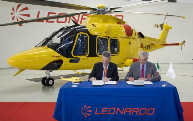 Leonardo and AAROI-EMAC sign agreement on helicopter emergency medical service