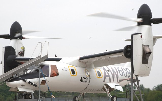Leonardo AW609 programme moves forward and prepares for icing trials