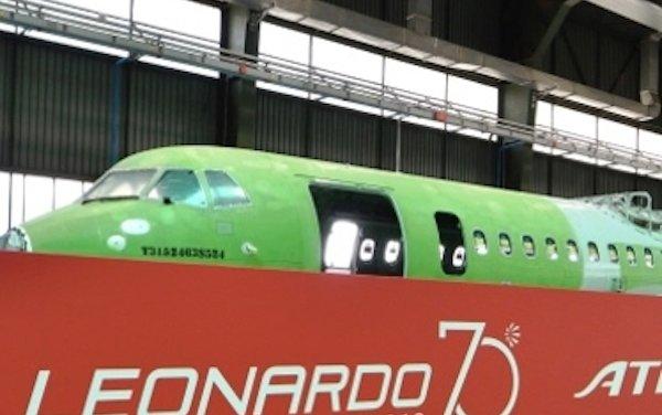 Leonardo delivers 1,500th fuselage to ATR, historic milestone