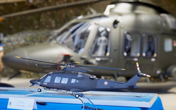 Leonardo delivers its first AW169 basic training helicopter to the Italian Army