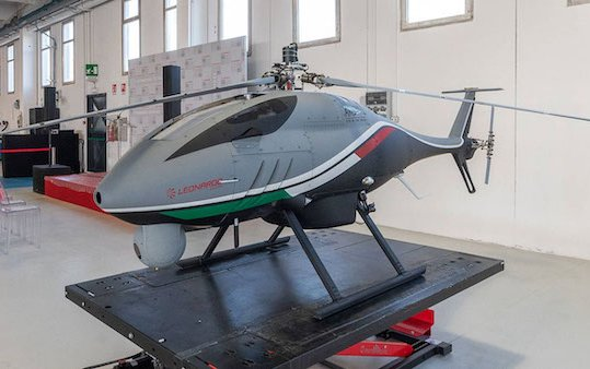 Leonardo extends its training services capabilities to rotorcraft UAS
