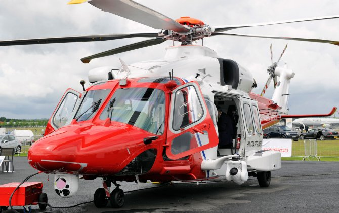 Leonardo-Finmeccanica AW189 Full Ice Protection System Certification