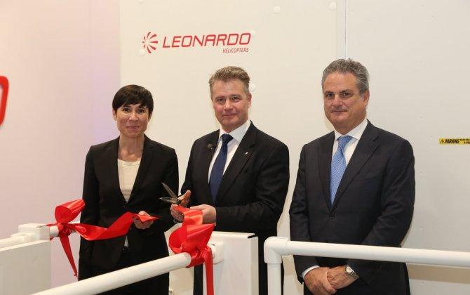 Leonardo's AW101 Norway Training Centre Opens