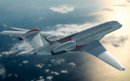 Liebherr on board new Dassault Falcon 10X business jet