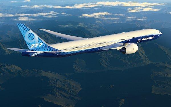 Liebherr Technology  on board of Boeing 777X Maiden Flight