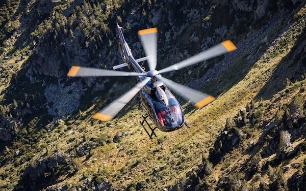 Lifesaving phone location technology now linefit on Airbus H145 helicopter