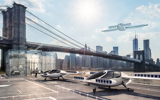 Lilium celebrates successful flight tests of world's first electric VTOL jet