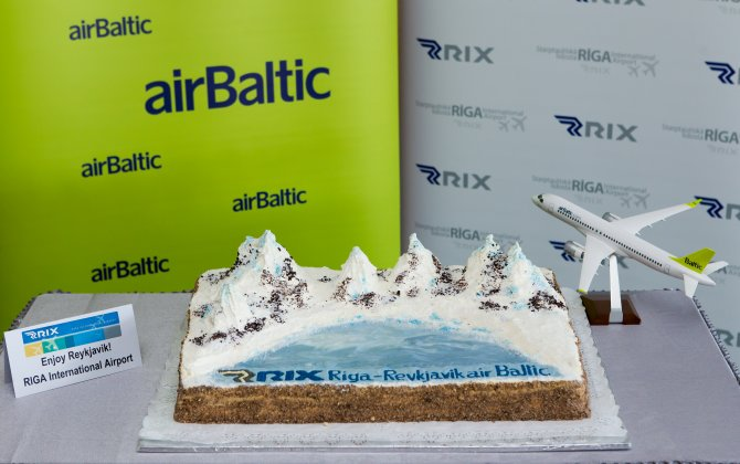 Live Concert for airBaltic's Riga – Reykjavik launch