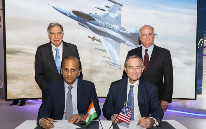 Lockheed Martin, Tata Announce F-16 India Partnership