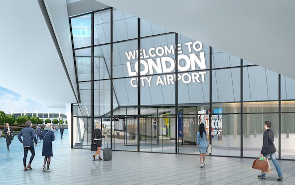 London City Airport releases images of New Terminal Interior