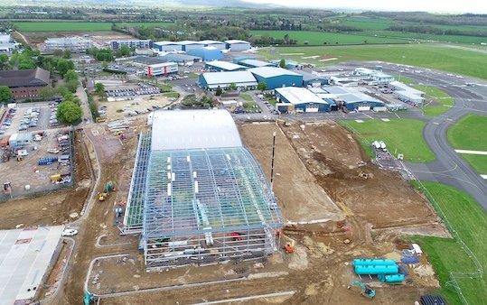 London Oxford Airport major development programme